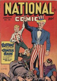 Cover Thumbnail for National Comics (Quality Comics, 1940 series) #38