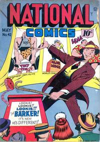 Cover Thumbnail for National Comics (Quality Comics, 1940 series) #42