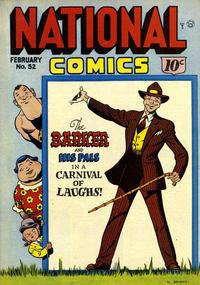 Cover Thumbnail for National Comics (Quality Comics, 1940 series) #52