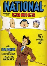 Cover Thumbnail for National Comics (Quality Comics, 1940 series) #58