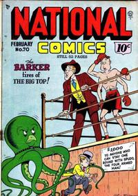 Cover Thumbnail for National Comics (Quality Comics, 1940 series) #70