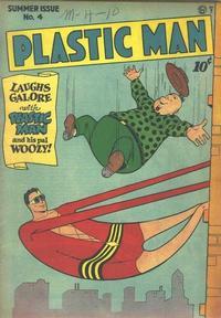 Cover Thumbnail for Plastic Man (Quality Comics, 1943 series) #4