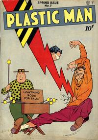 Cover Thumbnail for Plastic Man (Quality Comics, 1943 series) #7