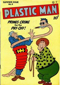 Cover Thumbnail for Plastic Man (Quality Comics, 1943 series) #8