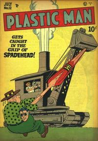 Cover Thumbnail for Plastic Man (Quality Comics, 1943 series) #12