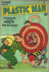 Cover Thumbnail for Plastic Man (Quality Comics, 1943 series) #13