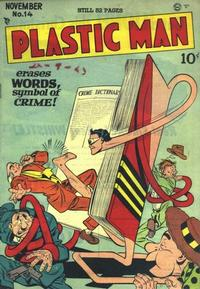 Cover Thumbnail for Plastic Man (Quality Comics, 1943 series) #14