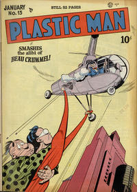 Cover Thumbnail for Plastic Man (Quality Comics, 1943 series) #15