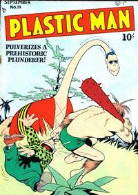 Cover Thumbnail for Plastic Man (Quality Comics, 1943 series) #19