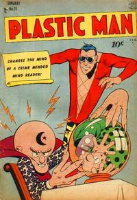 Cover Thumbnail for Plastic Man (Quality Comics, 1943 series) #21
