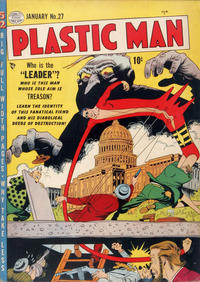 Cover Thumbnail for Plastic Man (Quality Comics, 1943 series) #27