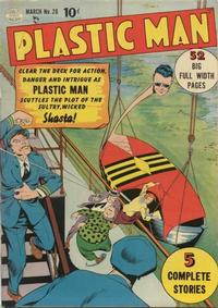Cover Thumbnail for Plastic Man (Quality Comics, 1943 series) #28