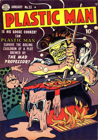 Cover Thumbnail for Plastic Man (Quality Comics, 1943 series) #33