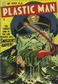 Cover Thumbnail for Plastic Man (Quality Comics, 1943 series) #34