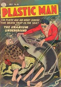 Cover Thumbnail for Plastic Man (Quality Comics, 1943 series) #36