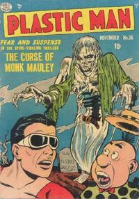 Cover Thumbnail for Plastic Man (Quality Comics, 1943 series) #38