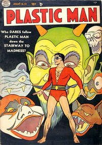 Cover Thumbnail for Plastic Man (Quality Comics, 1943 series) #39
