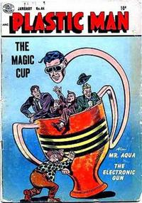 Cover Thumbnail for Plastic Man (Quality Comics, 1943 series) #44