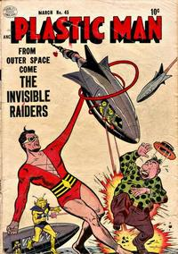 Cover Thumbnail for Plastic Man (Quality Comics, 1943 series) #45