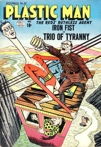 Cover Thumbnail for Plastic Man (Quality Comics, 1943 series) #50