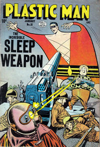 Cover for Plastic Man (Quality Comics, 1943 series) #51