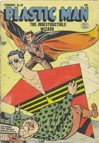 Cover Thumbnail for Plastic Man (Quality Comics, 1943 series) #52