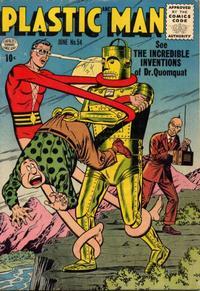 Cover Thumbnail for Plastic Man (Quality Comics, 1943 series) #54