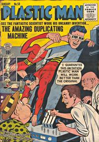 Cover Thumbnail for Plastic Man (Quality Comics, 1943 series) #58