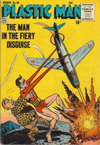 Cover Thumbnail for Plastic Man (Quality Comics, 1943 series) #60