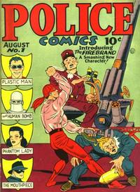 Cover Thumbnail for Police Comics (Quality Comics, 1941 series) #1
