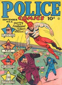 Cover Thumbnail for Police Comics (Quality Comics, 1941 series) #2
