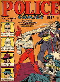 Cover Thumbnail for Police Comics (Quality Comics, 1941 series) #3