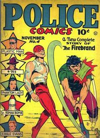 Cover Thumbnail for Police Comics (Quality Comics, 1941 series) #4