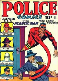 Cover Thumbnail for Police Comics (Quality Comics, 1941 series) #5