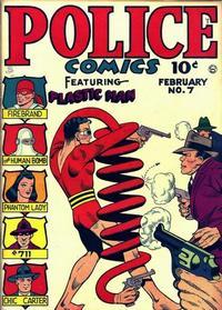 Cover Thumbnail for Police Comics (Quality Comics, 1941 series) #7