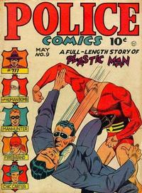 Cover Thumbnail for Police Comics (Quality Comics, 1941 series) #9