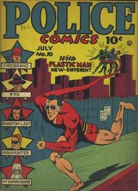 Cover Thumbnail for Police Comics (Quality Comics, 1941 series) #10