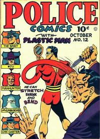 Cover Thumbnail for Police Comics (Quality Comics, 1941 series) #12