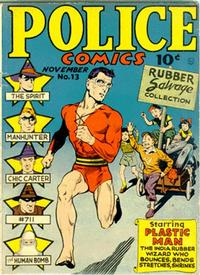 Cover Thumbnail for Police Comics (Quality Comics, 1941 series) #13