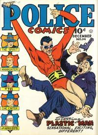 Cover Thumbnail for Police Comics (Quality Comics, 1941 series) #14