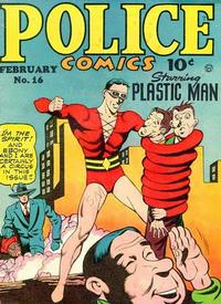 Cover Thumbnail for Police Comics (Quality Comics, 1941 series) #16