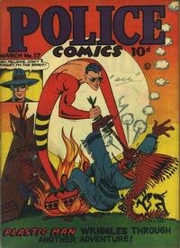 Cover for Police Comics (Quality Comics, 1941 series) #17