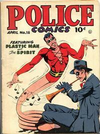 Cover Thumbnail for Police Comics (Quality Comics, 1941 series) #18