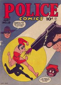 Cover Thumbnail for Police Comics (Quality Comics, 1941 series) #19