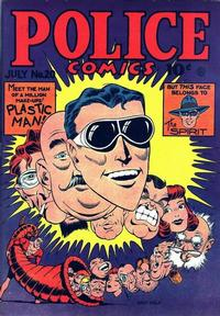 Cover Thumbnail for Police Comics (Quality Comics, 1941 series) #20