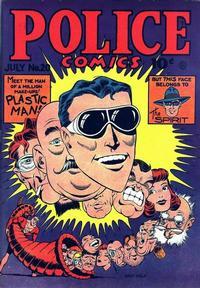 Cover Thumbnail for Police Comics (Quality Comics, 1941 series) #20