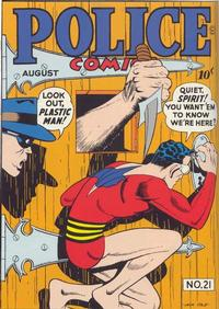 Cover Thumbnail for Police Comics (Quality Comics, 1941 series) #21