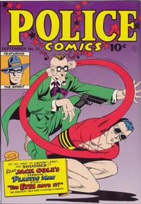 Cover Thumbnail for Police Comics (Quality Comics, 1941 series) #22