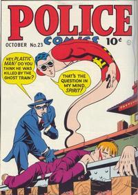 Cover Thumbnail for Police Comics (Quality Comics, 1941 series) #23