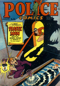 Cover Thumbnail for Police Comics (Quality Comics, 1941 series) #26